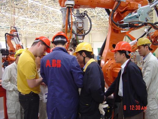 机器人安装工程