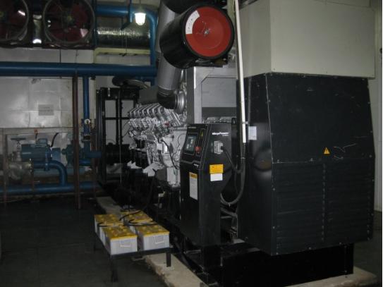 备用发电机组并机及环保工程